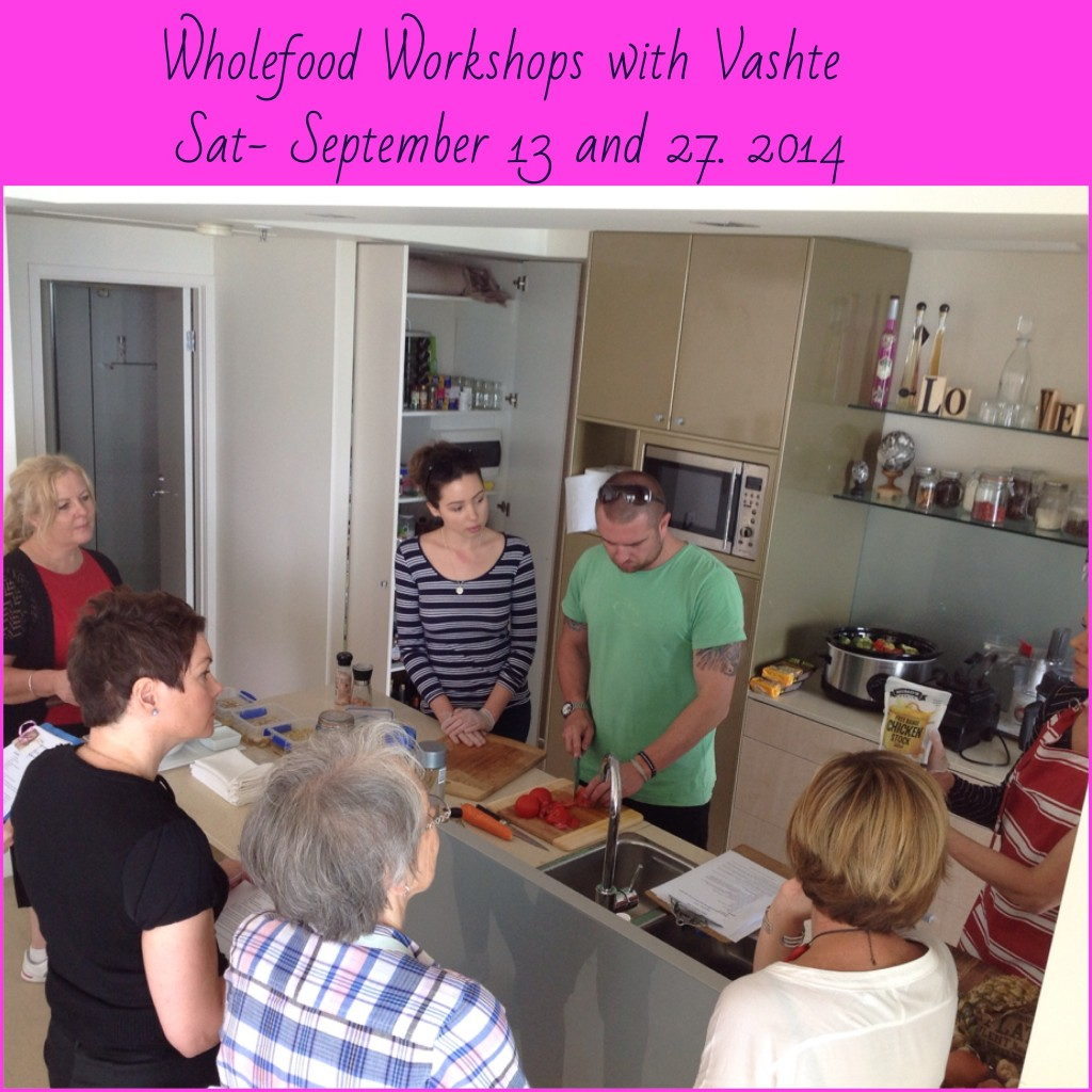 Wholefood Workshops with Vashte